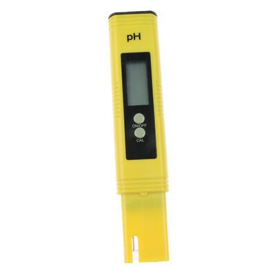 High Precision Portable PH Meter Tester Acidity Meter Water Analyser Yellow
