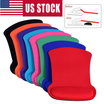 Wrist Rest Support Game Mice Pad Mouse Mat for Computer PC Laptop US STOCK