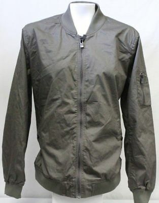 52714855b KENSIE NEW OLIVE Green Women's Size Large L Faux-Suede Bomber Jacket ...