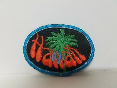"""State of Hawaii - Tropical Tree Patch (2.5"""" x 2.5"""")"""