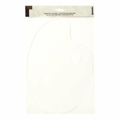 Reeves Clear Plastic Painting Palette for Oil, Acrylic, Gouache