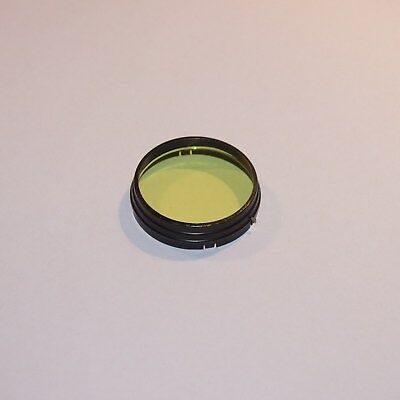 42mm push-on fit YELLOW FILTER made in UK A42