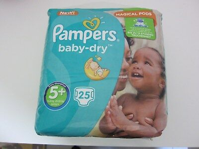 Pampers baby-dry 5+ (13-25kg) NEUF!