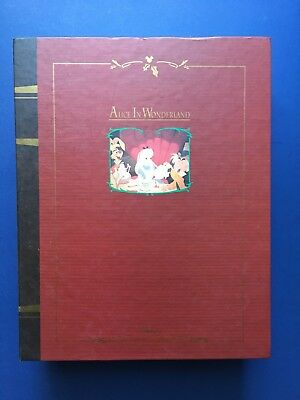 Disney Christmas Collection Alice in Wonderland Storybook Ornament Box Set