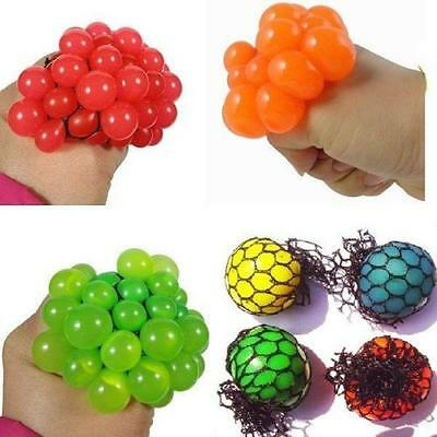 Anti Stress Reliever Autismus Stimmung Squeeze Relief ADHD Grape Ball Spielzeug