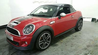 2011 Mini Cooper S Coupe Salvage Category N 65315