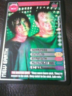 Dr who monster invasion ultimate Ltd Edition card 411 infected humans