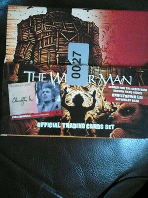 The Wickerman complete base set 54 cards