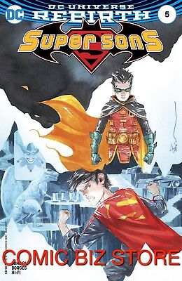 Super Sons #5 (2017) 1St Printing Variant Cover Bagged & Boarded Dc Universe