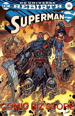 Superman #33 (2017) 1St Printing Variant Cover Bagged & Boarded Dc Universe