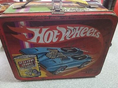 Old Vintage redliner Hot Wheels 1969 King Sealey Thermo Co. Lunchbox