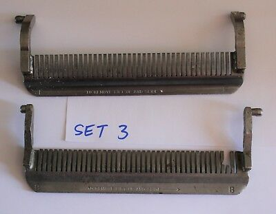 used Front & Back Stripper for Hobart Model 403 Steakmaster Tenderizer Set #3