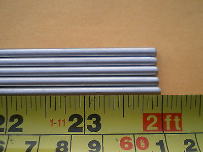 """3  Stainless Steel Round Rod 304, 5/32"""" (.156"""") (4Mm.) X 24"""" Long"""