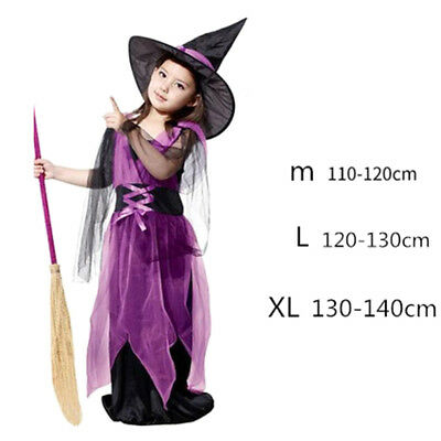 Fairy Witch Dress Outfit Halloween Party Fancy Dress Cosplay Party Costume