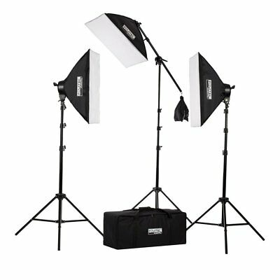 Fovitec 2500w Fotografia & Video Studio Luci e Boom Braccio Softbox