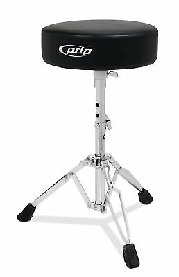 PDP Drum -  700 Series Drum Throne, Round Top Chrome Pddt700