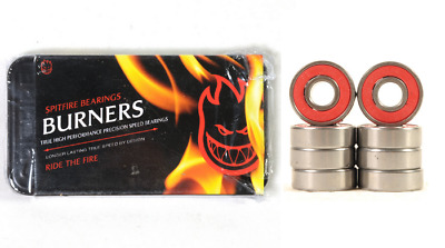 SPITFIRE BURNERS Speed Bearings / Skateboard Kugellager Longboard Super Schnell