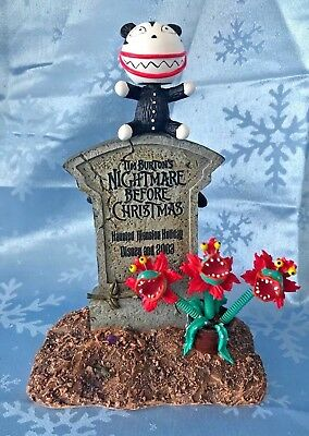 Disney Nightmare Before Christmas Haunted Mansion Scary Teddy Bobble Head NEW