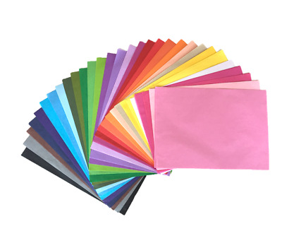 Tissue Paper 10 Sheets, Select out of 15 individual colours, Quality size