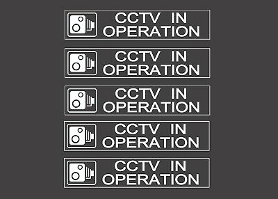 CCTV in operation - Window Sticker / Sign, Security, Anti Theft, Vehicle