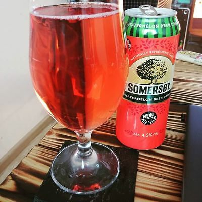 Somersby Watermelon Beer drink NEW 4,5% vol 24x0,5 Dose