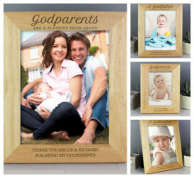 Godparents Gift! Personalised Photo Frame by Filly Folly