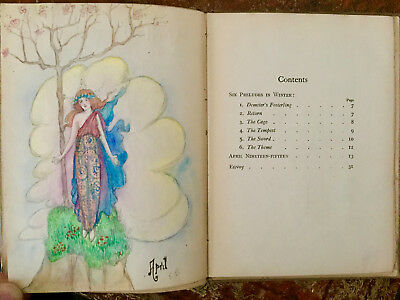 April Nineteen-Fifteen - A Unique Book Illustrated by Elsie Blomfield