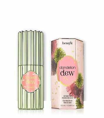 Benefit Dandelion Dew Soft Baby Pink Radiance For Cheeks 1 Oz Full Size NIB