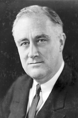 New 4x6 Photo: Franklin Delano Roosevelt, 32th President of the United States