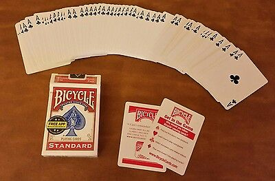 Deck of Cards, all cards are the Ace of Clubs.  Bicycle red back. m