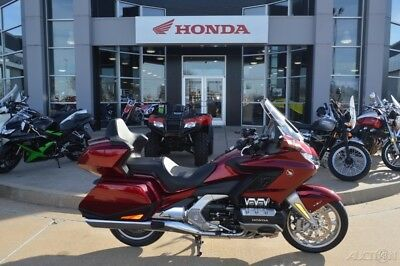 Honda Gold Wing Tour Clutch Candy Ardent Red  2018 Honda Gold Wing Tour Clutch Candy Ardent Red New