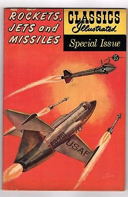 Classics Illustrated Special Issue/Rockets/Jets/Missles/1960s Comics