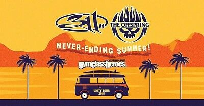 311 & The Offspring-GA PIT: The Rose Music Center-Huber Heights, OH