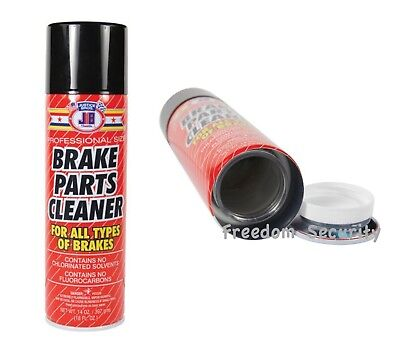 JB Brake Cleaner Can Diversion Safe Hidden Home Secret Compartment Cash Stash