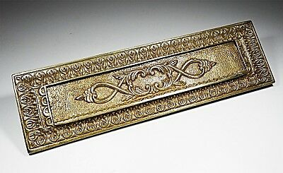 Antique Decorative Attractive Solid Brass Letter Flap Victorian Style