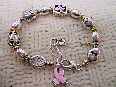 Brighton Mixed Charm Bracelet Sister Mom Wife Friend + High End Designer Jewelry