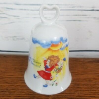 Little Orphan Annie Bell 1982 Applause Sunshine Tomorrow Flowers Vintage