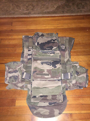 French Army Military CCE Camo Combat Vest