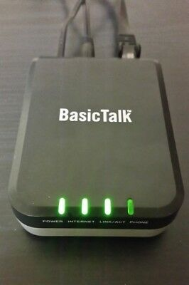 BasicTalk Home Phone and Internet box/receiver with charger