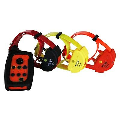 Waterproof Remote Dog training collar range up to 2,000 m  for 3 dogs