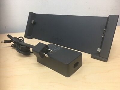 Microsoft 1617 Surface Pro & Pro 2 Docking Station USB 3.0 Power Adapter Include