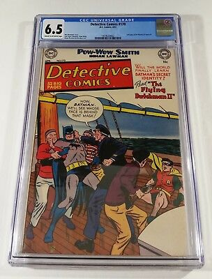 Detective Comics #170 DC Comics 1951 CGC 6.5 HTF Full Ad for Mystery in Space