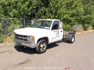 Chevrolet 3500HD Chassis and Cab Utility Pickup Truck 7.4L V8 A/T DRW - Repair