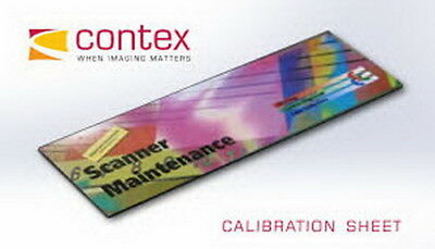 """New! Contex 36"""" Engineering Scanner Calibration Sheet for SD 3600 Series Parts"""