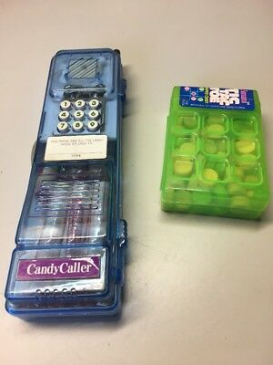 1996 Amurol Tic Tac Toe Smarties Candy Cellphone Dispenser