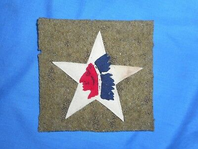 WWI 5th Marines Supply Tain, 2nd Infantry Div. Original patch.