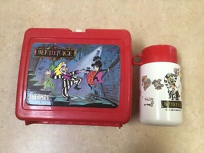 1989 Used Beetlejuice Lunch Box w/Thermos