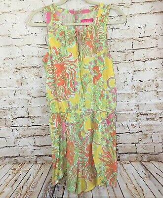 66a1292b914 Lilly Pulitzer for Target Challis Romper Happy Place Romper Size Small