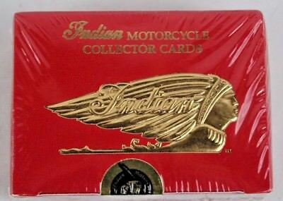 Indian Motorcycle, Collector Cards Series Ii 28 Card Factory Set