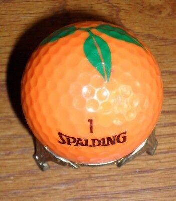 """Hale Groves """"Orange"""" Golf Ball -- This juicy little orange is really a golf ball"""